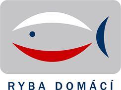 Logo propagační kampaně Ryba domácí, spolufinancované z Evropského rybářského fondu, jejímž cílem je podpořit spotřebu tuzemských sladkovodních ryb a výrobků z nich.